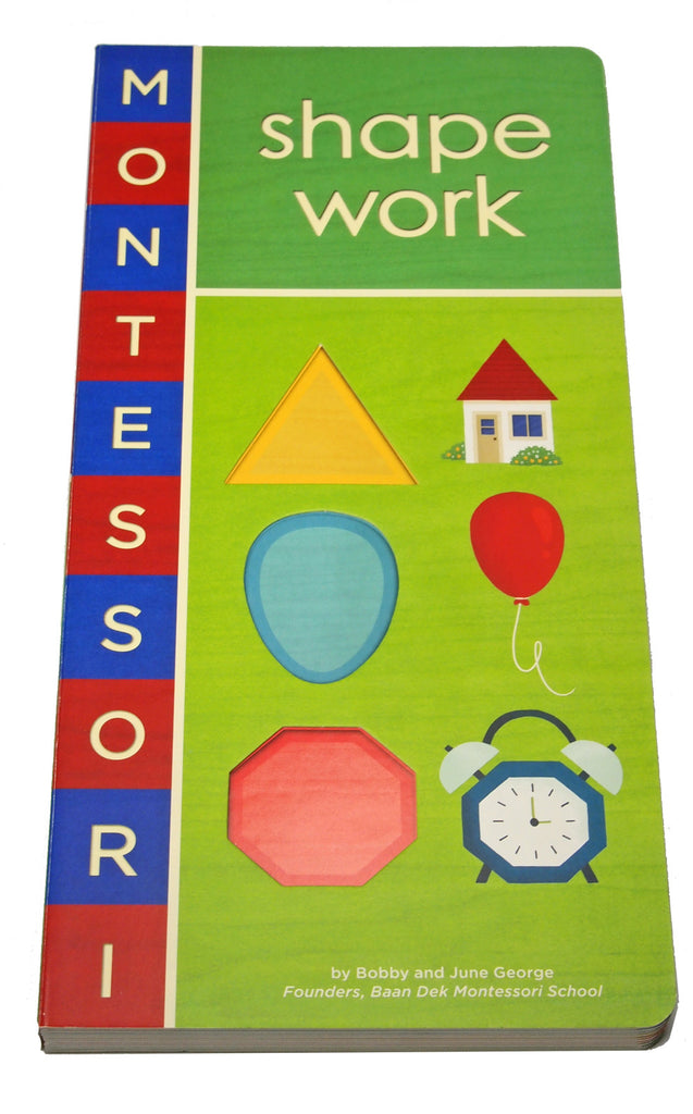 Montessori Shape Work Book