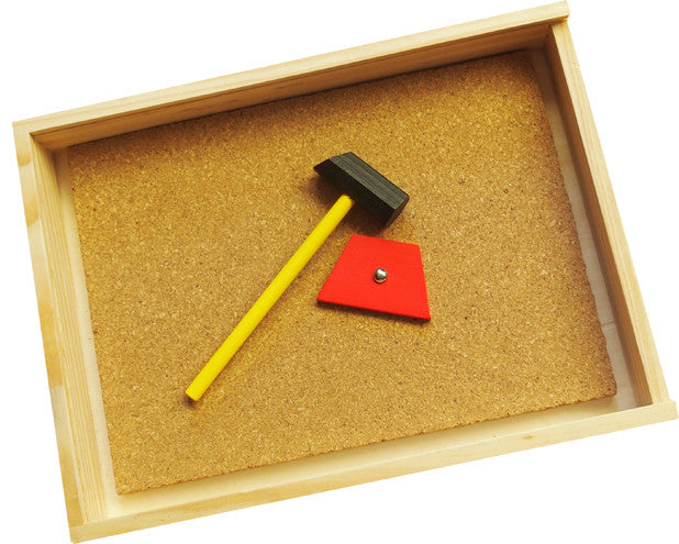 'Tap Tap' Hammer and Nail Set in box