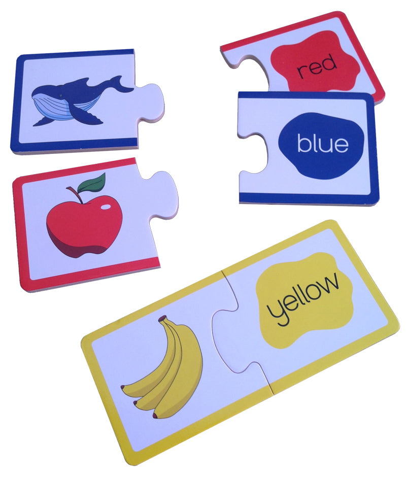 Wooden Learning Puzzle - COLOURS