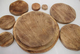 Natural Wood Stacking Discs