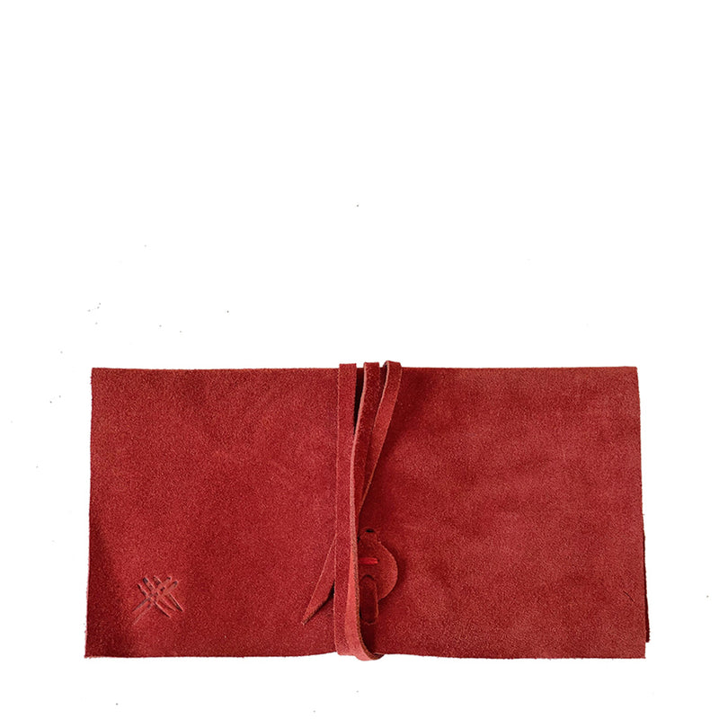 WRAP POUCH RED