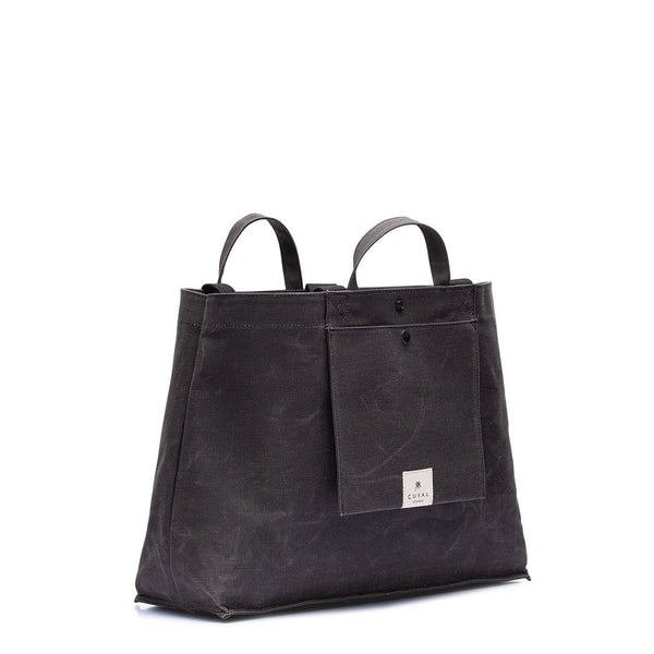 No. 205 XLarge Tote Charcoal