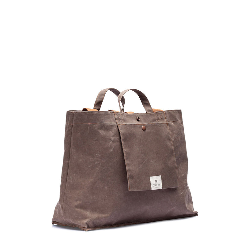 No. 205 XLarge Tote Tobacco (REVERSIBLE)