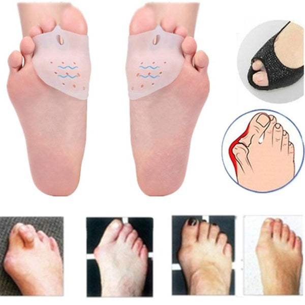 2Pcs Bunion Corrector  with Forefoot Care Pads Protection