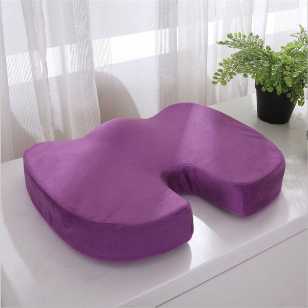 New Orthopedic Memory Foam Seat U Cushion Back Pain Relief Chair Indoor Pillow