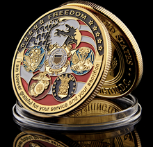 Load image into Gallery viewer, USA Military Collection Coin