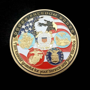 USA Military Collection Coin