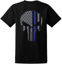 Load image into Gallery viewer, Thin Blue Skull Shirt