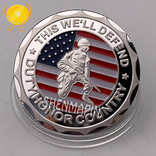 Army Veteran Coin