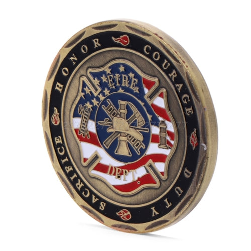 Fire Dept. Commemorative Coin