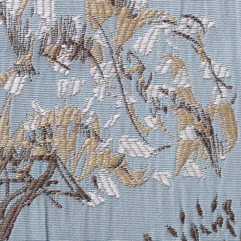 Arden Jacquard Eyelet Curtains Duck Egg