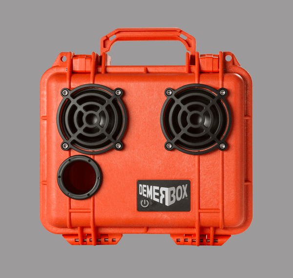 Orange DemerBox Speaker Front