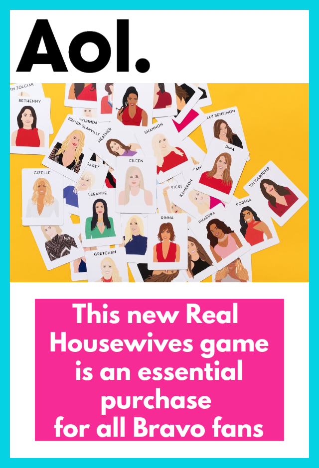 AOL- New Real Housewives game is an essential purchase for all Bravo fans