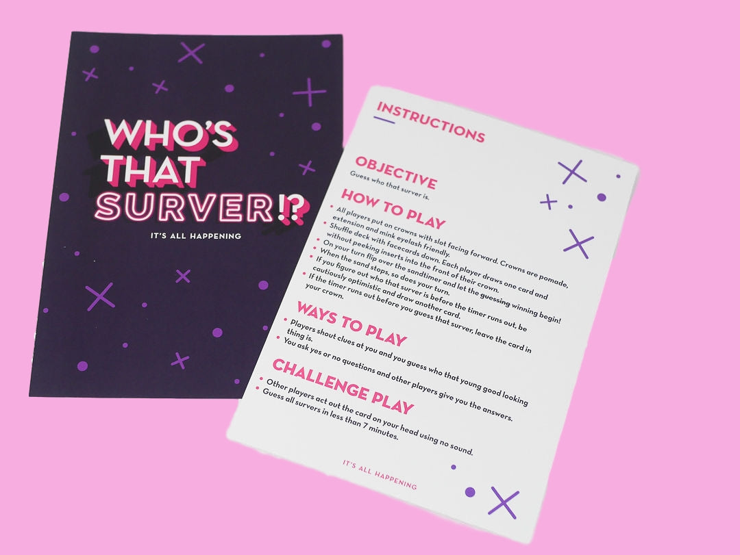 Expansion Pack 🍷🥂🥃🍸🍾| Who's That Surver!?
