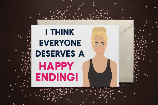 Denise Happy Endings Card