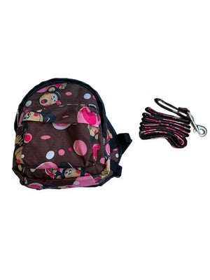 Monkey Dog Backpack + Matching Leash