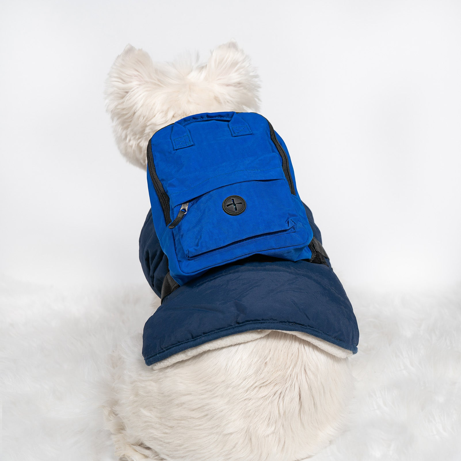 Blue Dog Backpack
