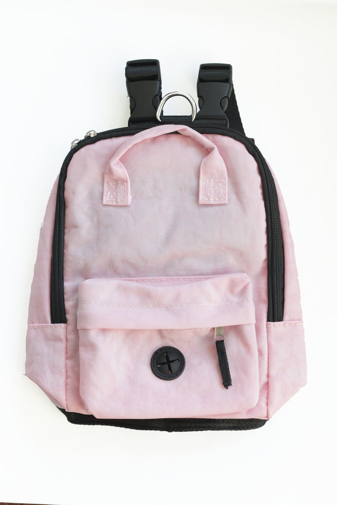 Pink Dog Backpack Harness