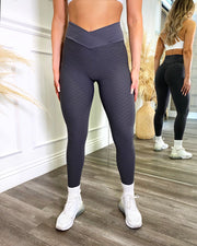 Bella Scrunch Leggings (Charcoal)