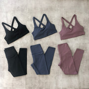 Ellie Sports Bra (Mauve)
