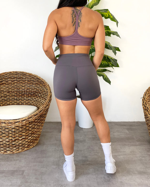 Ava Basic Sports Bra (Lavender)
