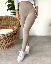 Mesh Seamless Scrunch Leggings