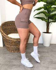Sadie Cargo Shorts (Lovely Nude)