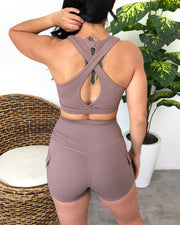 Sadie Sports Top (Lovely Nude)