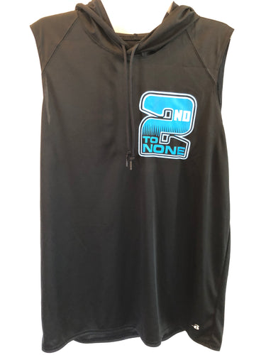 2nd to None Sleeveless Hood Performance Tee