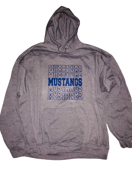 (MM) Mustangs Dry Blend Hooded Sweatshirt