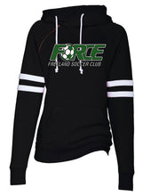 Load image into Gallery viewer, (FF) Force Ladies Double Hood Pullover