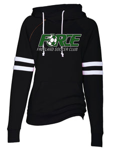 (FF) Force Ladies Double Hood Pullover