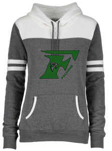 (T) Falcon Ladies Varsity Fleece  Pullover