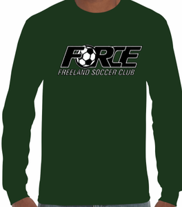 (FF) Force Long Sleeve Tee (Youth & Adult)