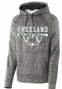 (BB) Performance Hoodie (Youth & Adult) - BBall Court