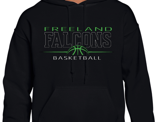 Basketball Hooded Dry Blend Sweatshirt