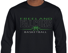 Load image into Gallery viewer, (BB)  Dry Blend Long Sleeve - Falcons BBall