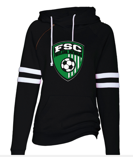 (FSC) Ladies Double Hood Pullover