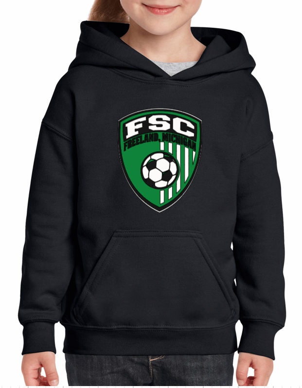 (FSC) Dry Blend Hooded Sweatshirt (Youth & Adult)