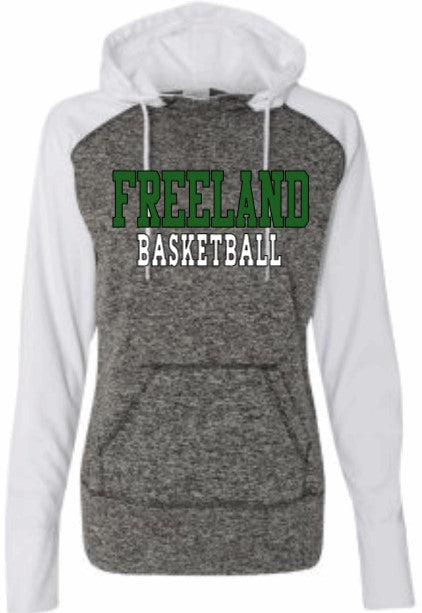 (BB) Ladies Performance Hoodie - Basketball