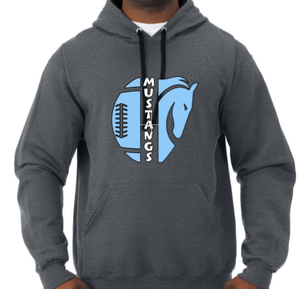 (MM) Football Hooded Sweatshirt