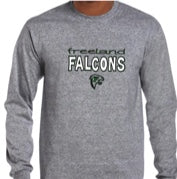 Load image into Gallery viewer, Dry Blend Falcon Long Sleeve T-Shirt