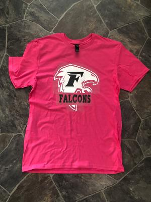(SW) Falcon Short Sleeve Pink Tee