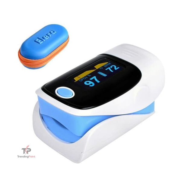 Digital Fingertip Pulse Oximeter & Blood Saturation Oxygen Meter - Health