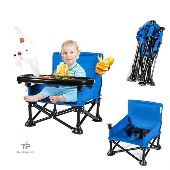 Foldable Baby Chair - outdoors