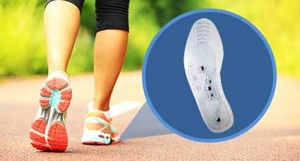 Acupressure Magnetic Therapy Foot Insole Massager