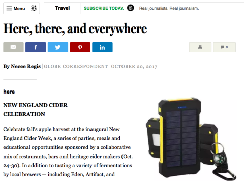 NEW Solar Power Phone Charger Featured on Fox News