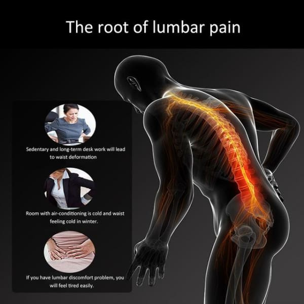 Chiropractic Pain Relieving Back Support
