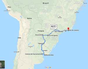 Leg 8, May 2022: Buenos Aires to Rio