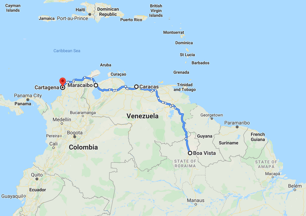 Leg 13, July 2021: Boa Vista to Panama City
